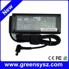 Original high quality 90W 19.5V 4.7A AC power adapters for SONY laptop charger 6.5*4.4mm