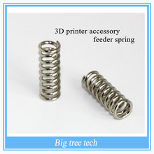 3D Printer Accessory Feeder Compression /Spring For Ultimaker Makerbot Wade Extruder Nickel Plating 1.2mm 20mm Free Shipping