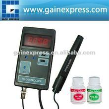 PH-201 digital de ph co2 controlador medidor de peces de acuario tanque gama 0.00~14.00ph + cambió el zócalo o 110v/220v