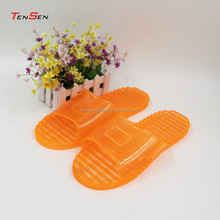 cheap wholesale popular bright color big size unisex bathroom and hotel slipper