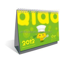 Full colour glossy OEM calendar printing