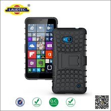 New Arrival Protective Shockproof Armor Case Silicone + PC TPU Mobile Phone Case For Lumia 640 5 inch with Stand Holder