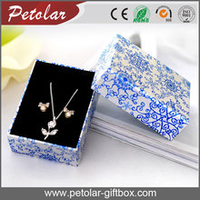 pretty personalized design paper jewelry packaging box