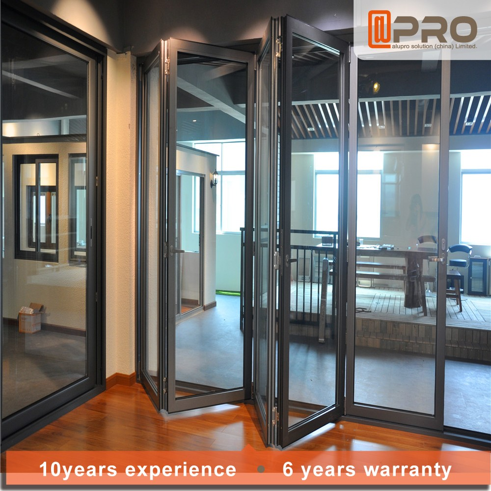 2016 One Way Automatic Glass Sliding Door Frost Glass Hanging Glass