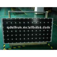 A grade 240W monocrystalline solar panel