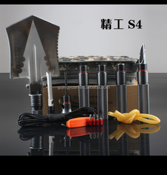 S4 multi-function removable and reassembled chinese military shovel