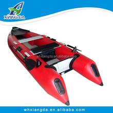 PVC Hull Material Inflatable Fishing kayak wholesale