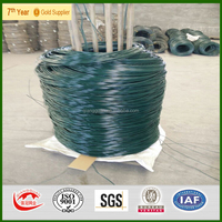 High Quality PVC Coated Iron Wire/ Pvc Coated Galvanized Steel Wire