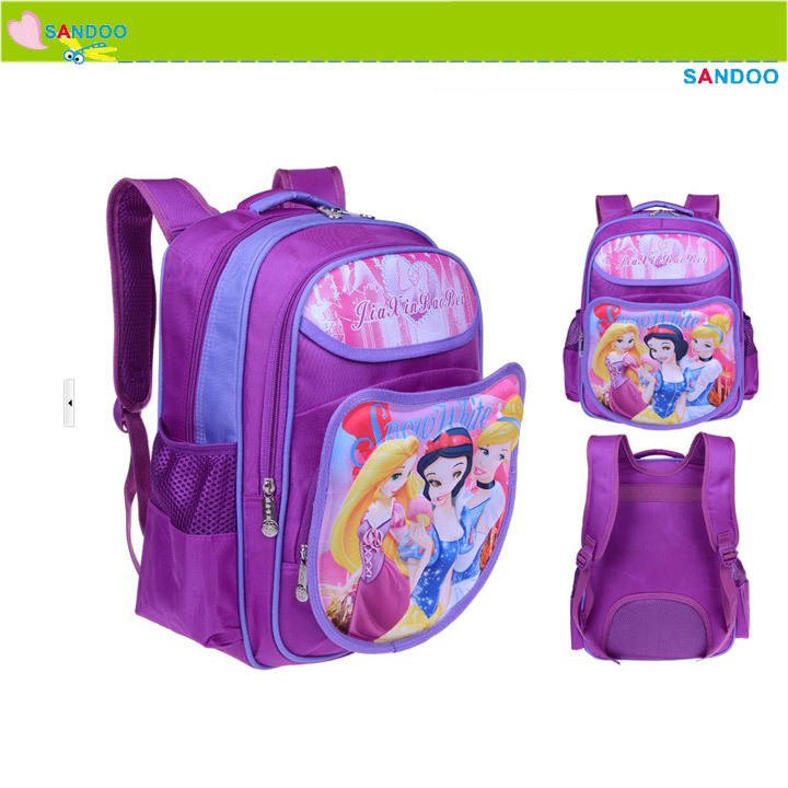 China kids school bags backpack bag, new design cartoon school bag for 2015