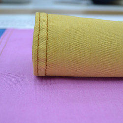 China Made Elastic Twill Dyed Fabric With Slub for Clothing