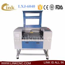 LXJ-6040 Discount price laser machine rubber stamp &mini laser stamp engraving machine