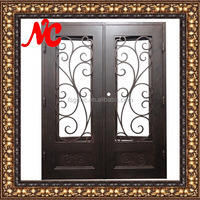 Building Style Metal Front Entry Door