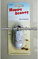 Air auto filter shoe air freshener for car room air freshener for good promotion