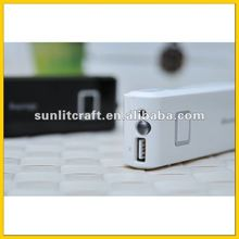 2012 Newest hotselling promotion best high-quality travel 10000mah power bank