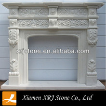 Crema Marfil Marble Indoor Beige Marble Fireplace/fireplace mantel marble