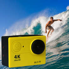 hot 30m Waterproof 2-inch 1080p 170 wide angel 4k video camera, extreme sports action video camera wifi