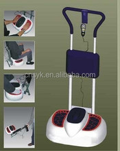 2014 Top quality multi function blood circulation vibration foot massager with back cushion