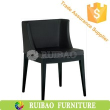 High Quality French Style Wood Legs PU Seat Classic Dinning Chair