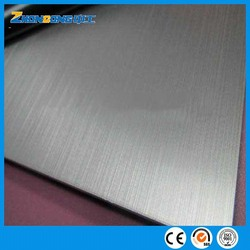 hairline surface stainless steel plate