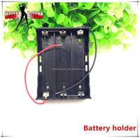E cig box mod accessories no wick atomizer 4.5v battery holder