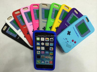 game boy silicon Soft rubber skin gel phone protective Case for iPhone 6