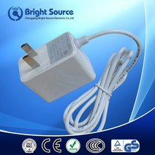 AU UK US EU dc output adapter,24 volt ac power supply,dc power cable 2.5mm plug male to male