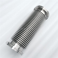ISO Flexible hoses ss304 or 316L ISO-K63*300mm for high vacuum