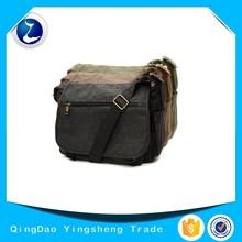 Vintage Durable Canvas Messenger Cross body Shoulder Bag