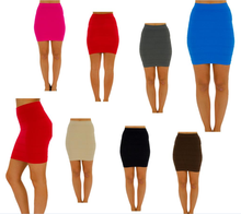 Bandage Fitted Line Soft Bodycon Casual Party Pencil Mini Short Skirt