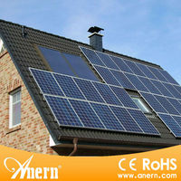Stand alone 1KW solar panel home system suitable for area with energy shortages