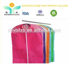 Hot selling Nonwoven men suit cover garment bags wholesale