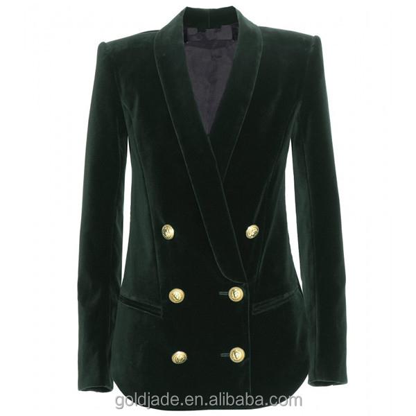 ladies formal velvet suits designsjacket blazer women