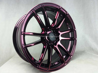 new design chrome alloy wheel rim 17 inch chrome aluminium alloy wheel rims 4x100