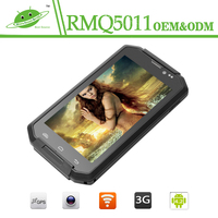 New design rugged waterproof cell phone android smartphone 3g with quad core 8mp camera