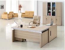 Hot selling economical melamine office table ,cheap office desk CM-02