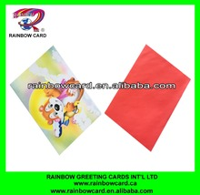 Fashionable top sell paper 3d birthday cards
