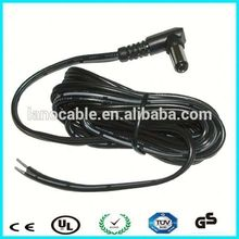 Top Sale Factory Price 22awg male 2.1mm dc cable for laptop