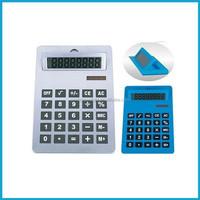 A4 size jumbo calculator, 8 digits Solar Powered electronic Calculator