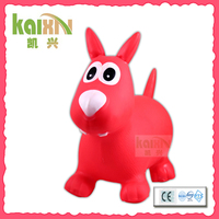 Plastic Jumping Horse Pony Toy