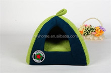 Pet Green Houses Soft Fleece Warm House For Small Dogs