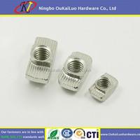 Aluminium Profile Accessories Hammer Head M6 T Nut