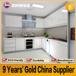 Easy fitted wooden kitchen furniture foshan