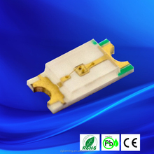 ultra bright single color 1206 smd led specifications
