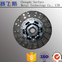 Clutch friction plate with clutch facing