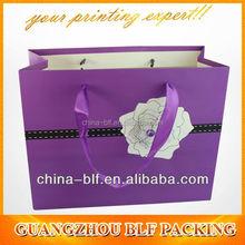 paper custom tote bag(BLF-PB244)