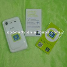 2012 Active demand microfiber silicone mobile phone screen wipes