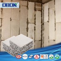 OBON 100mm insulated sandwich panel polyurethane price