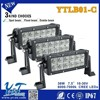 auto parts aluminum housing led light bar 4d offroad battery powered led light bar 4x4 wholesale offroad led light bar