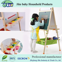 Double sided kids erasable magnetic drawing board