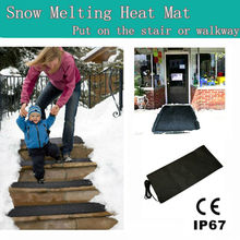IP67 waterproof electric Snow melting stair mat with CE